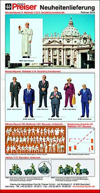 Preiser noviteiten februari 2016